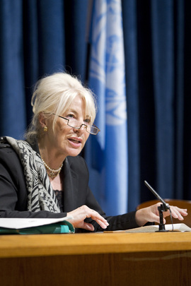 CEDAW Vice Chair Briefs Press