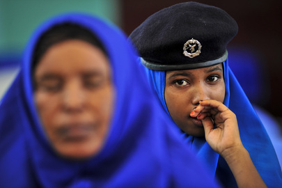A.U. Forces Hold Training Sessions for Somali National Police