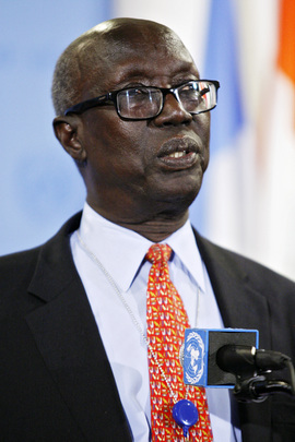 Permanent Representative of South Sudan Briefs Press