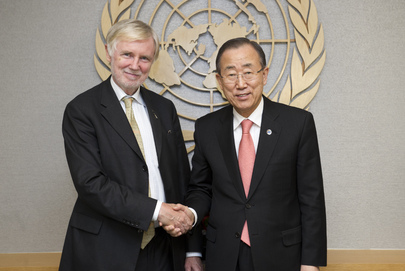 Secretary-General Meets Foreign Minister of Finland