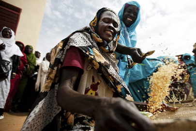Darfur Women at Community-Run SAFE Centre