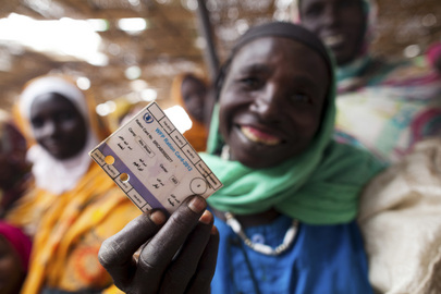 WFP Distributes Food Vouchers to Darfur Displaced