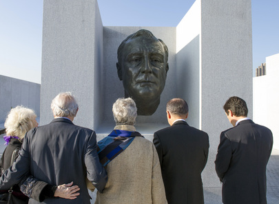 "Secretary-General Celebrates Completion of ""Four Freedoms Park"""