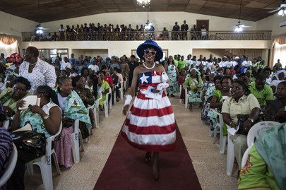 Liberian Women Honour President in Thanksgiving Event