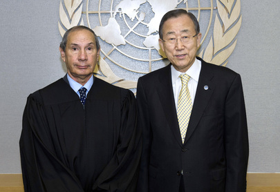 Secretary-General Meets UN Appeals Tribunal Judge