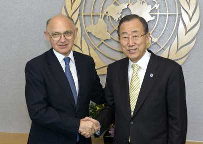 Secretary-General Meets Foreign Minister of Argentina