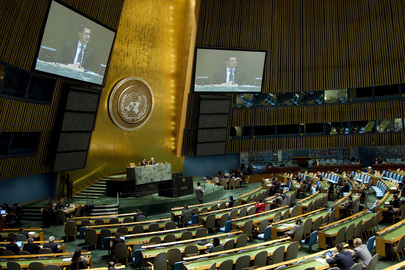 Assembly Debates ECOSOC Report, African Development