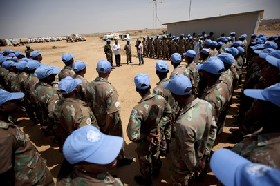 UNAMID Assesses Damage after Deadly Ambush