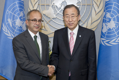 Secretary-General Meets Permanent Representative of Turkey