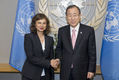 Secretary-General Meets Permanent Representative of Lithuania