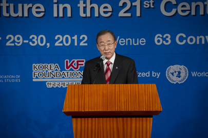 Secretary-General Speaks at Academic Conference in Seoul
