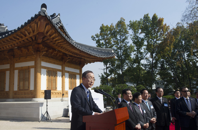 Korean National Assembly Hosts Reception for Secretary-General