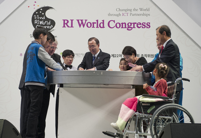 Secretary-General Attends Rehabilitation International Congress in Seoul