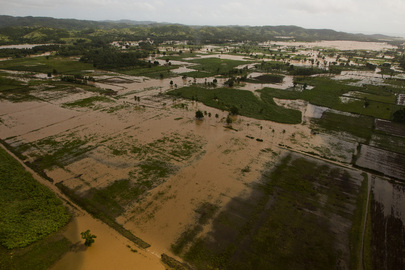 Hurricane Sandy Causes Heavy Rains and Floods in Haiti