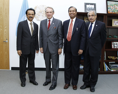 Deputy Secretary-General Meets Members of Indian Parliament