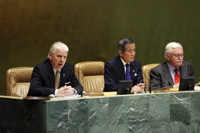 Senior UN Officials Brief Delegates on Hurricane Sandy's Effects on UN Headquarters