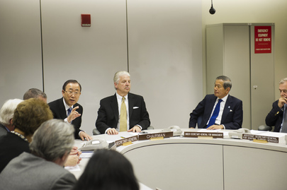Briefing by Crisis Operations Group on Effects of Hurricane Sandy on UNHQ