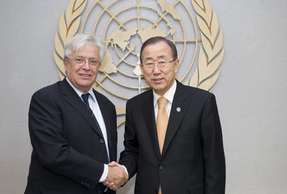 Secretary-General Meets Executive Director of UN-Habitat