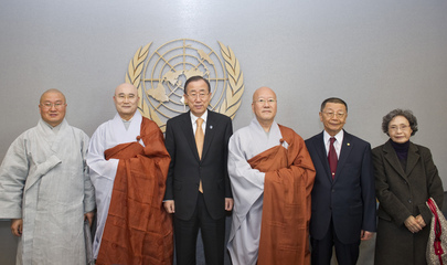 Secretary-General Meets Representatives of Jogye Order of Korean Buddhism