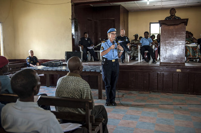 Liberian and UN Police Hold Workshop on Women's Security
