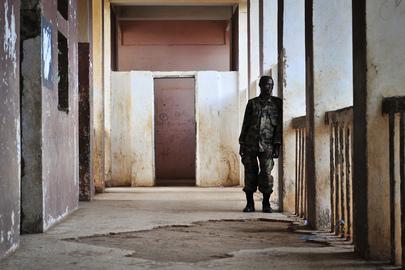AMISOM Forces at Ballidoogole Airbase, Somalia