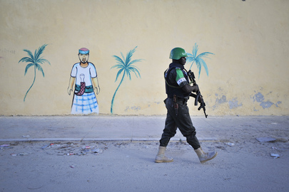 AMISOM Provides Security in Mogadishu