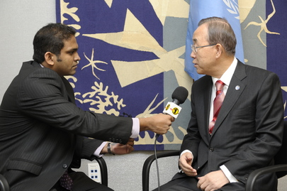 Dag Hammarskjöld Journalism Fellows Interview Secretary-General