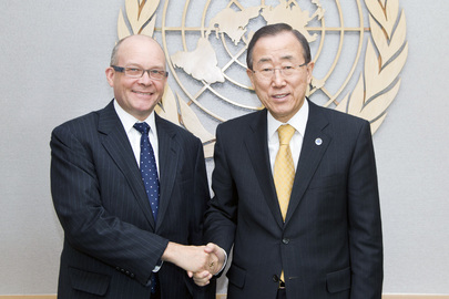 Secretary-General Meets UN Representative to Geneva International Discussions on Georgia