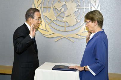 Swearing-In Ceremony for Acting Head of UNITAR