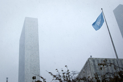 Winter Storm Athena Approaches UN