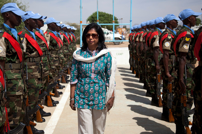 Under-Secretary-General for Field Support Visits UNAMID