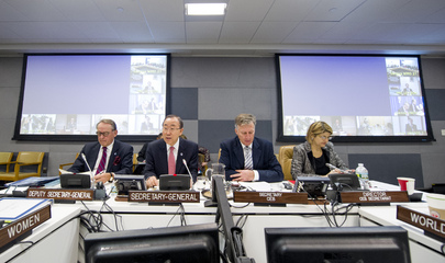 Meeting of Chief Executives Board at UNHQ