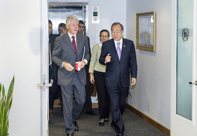 Secretary-General Meets UN Envoy to Haiti