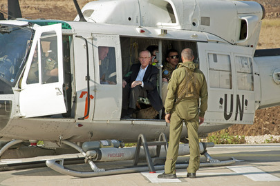 UN Peacekeeping Official Visits Blue Line on Israel-Lebanon Border