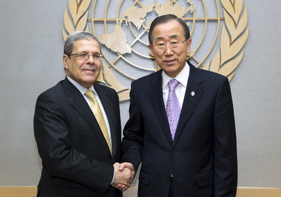 Permanent Representative of Tunisia Pays Farewell Call on Secretary-General