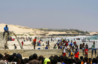 Mogadishu's Lido Beach Lively after Shabaab Withdrawal