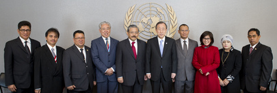 Secretary-General Meets Members of Indonesian Parliament