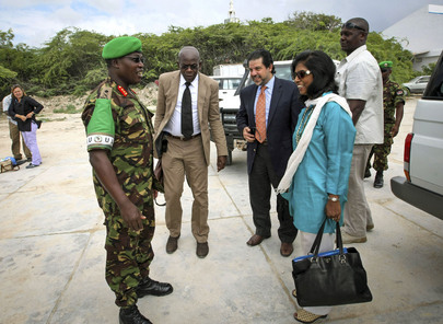 UN Field Support Chief Visits Somalia