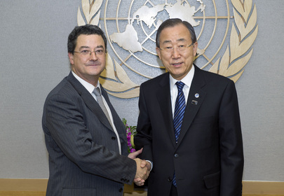 Secretary-General Meets Swiss State Secretary for Foreign Affairs