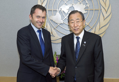 Secretary-General Meets Swiss Foreign Ministry's Head of International Organisations