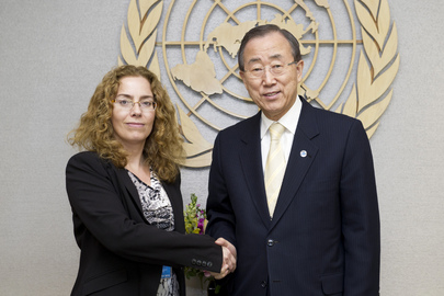 Secretary-General Meets Human Rights Council President