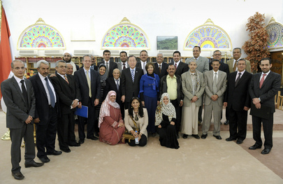 Secretary-General Visits Yemen for Anniversary of Transition Agreement