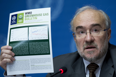 WMO Releases Annual Greenhouse Gas Bulletin