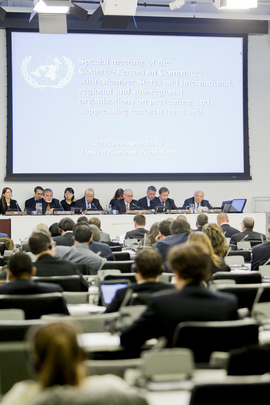 "Security Council Committee Holds Meeting on ""Preventing and Suppressing Terrorist Financing"""