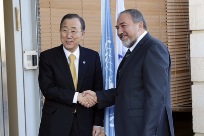 Secretary-General Meets Israeli Foreign Minister
