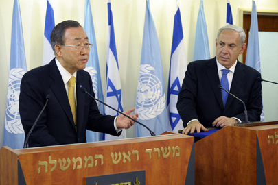 Secretary-General and Israeli Prime Minister Address Journalists