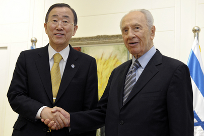 Secretary-General Meets President of Israel