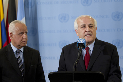 Palestinian Representative Briefs Press following Council Consultations