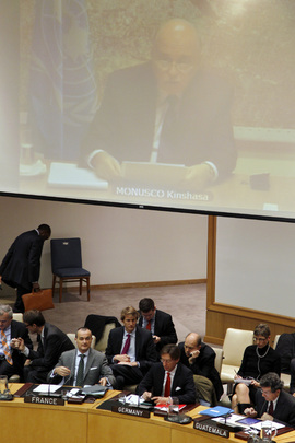 Security Council Meets on Situation in DR Congo