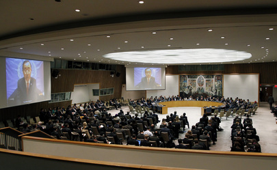 Secretary-General Briefs Security Council on Situation in Middle East